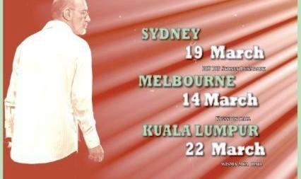 کنسرت بزرگ سیاوش قمیشی در سیدنی استرالیا