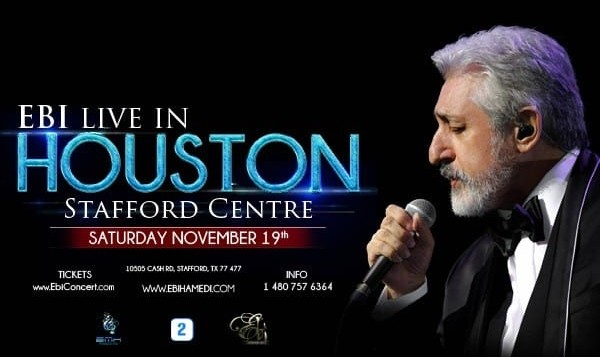 Ebi Live in Concert in Houston