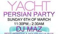 Persian Yacht Party in Dubai