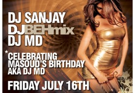The Best of Persian & International Party; DJ MD's BDAY Bash