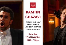 Ramtin Ghazavi, Iranian Tenor, with Piano by Oliver Poole