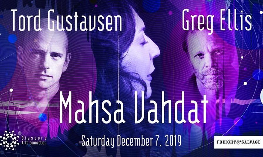 Mahsa Vahdat, Tord Gustavsen, Greg Ellis in Concert