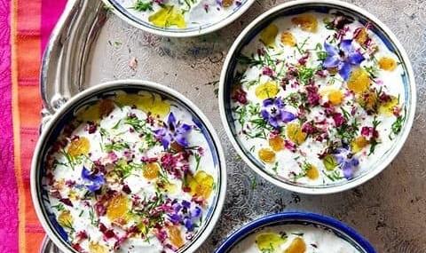 Persian Meal, Dessert and Tea