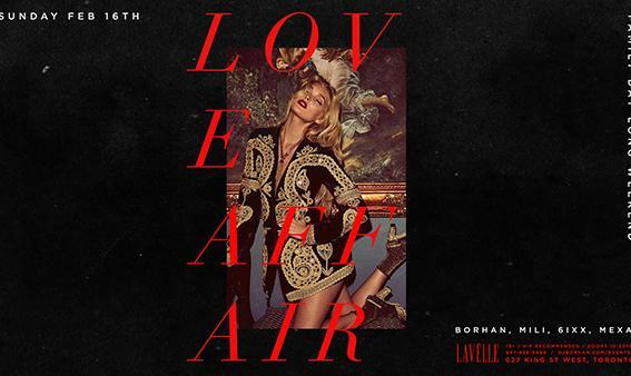 Love Affair Persian Party at Lavelle Toronto