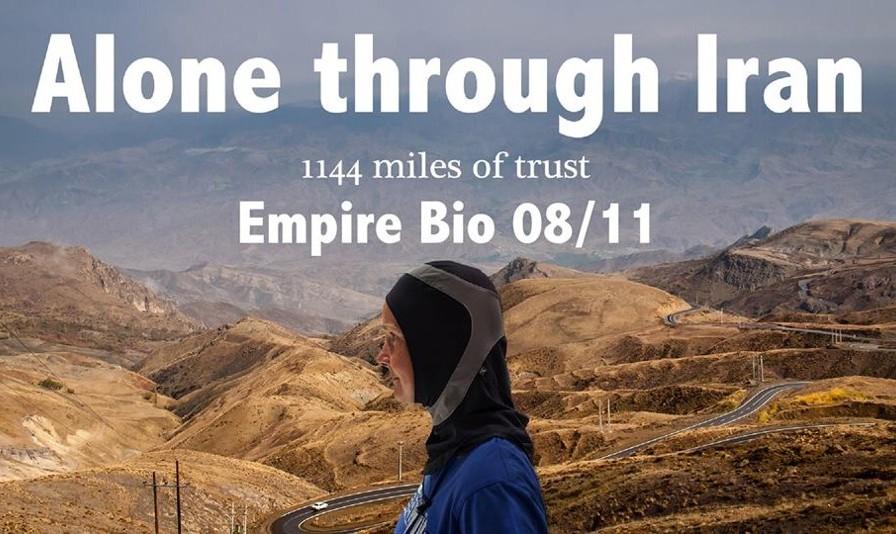 مستند کریستینا پلتن، تنها در سفر ۲۰۰۰ کیلومتری ایران
