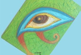 Malerei Ausstellung- Parwaneh Zargar