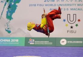 As in Science Fiction Movie: Iranian Wushu Athlete Defies Gravity as in Matrix!