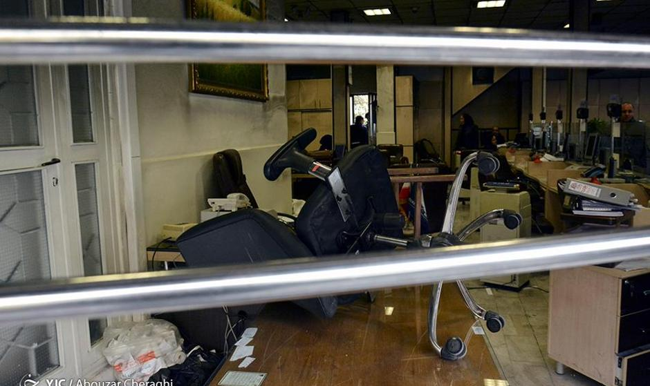 در پی حمله و غارت،  بخشی از بازار تهران تعطیل شد