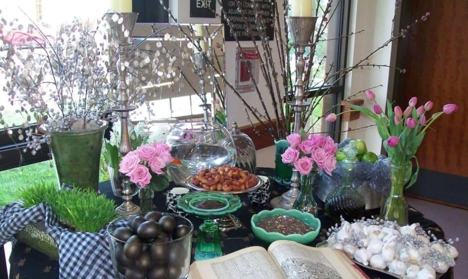 جشن نوروزی در سن حوزه