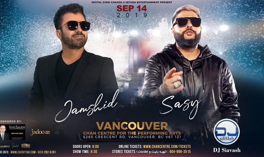 Jamshid & Sasy Live in Vancouver