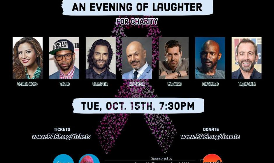 An Evening of Laughter for Persian-American Cancer Institute with Maz Jobrani