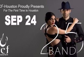 ۲۵Band Live in Concert in Houston