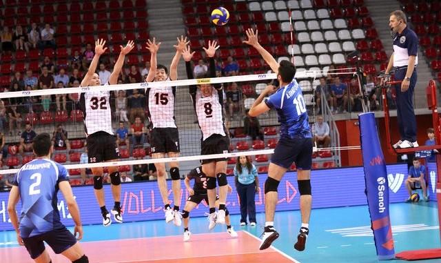 شکست ناباورانه والیبال ایران مقابل ژاپن در یک بازی پراشتباه