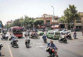 به روایت تصویر: امان از دست بیقانونی موتورسواران در تهران!