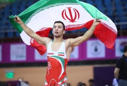 ایرانیان مدال ها را درو کردند! تیم کشتی فرنگی جوانان مقتدرانه قهرمان آسیا شد