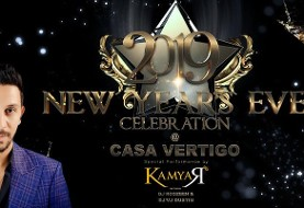 New Year Celebration with Kamyar, Dinner Party and Open Bar