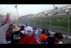 Youtube vs. NASCAR: Video of scary crash injuring many