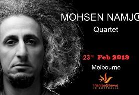 Mohsen Namjoo Quartet, Live in Melbourne