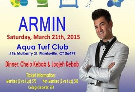 FIOC Nowruz Party ۱۳۹۴ with ARMIN