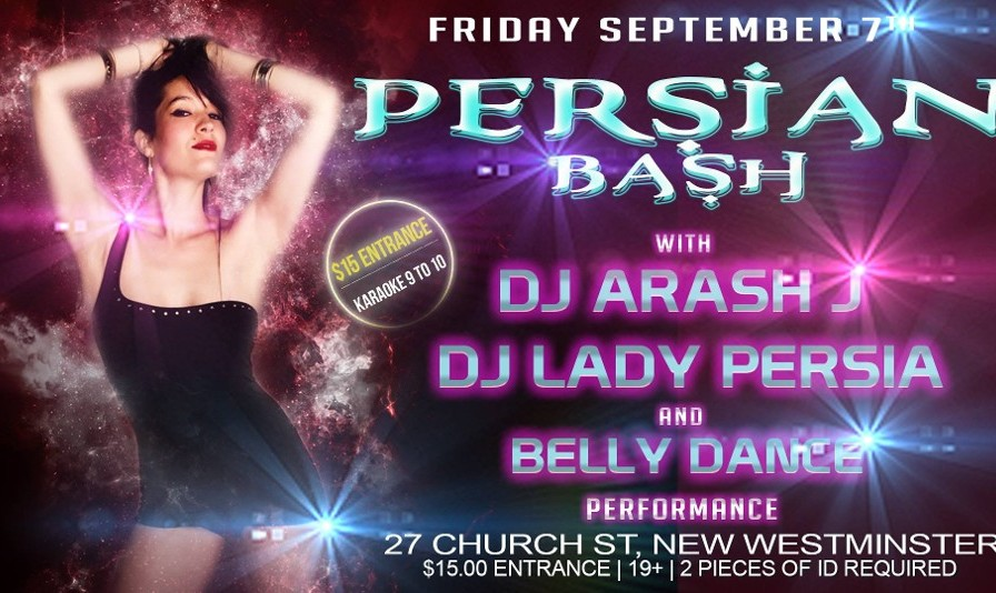 Persian Bash in Vancouver