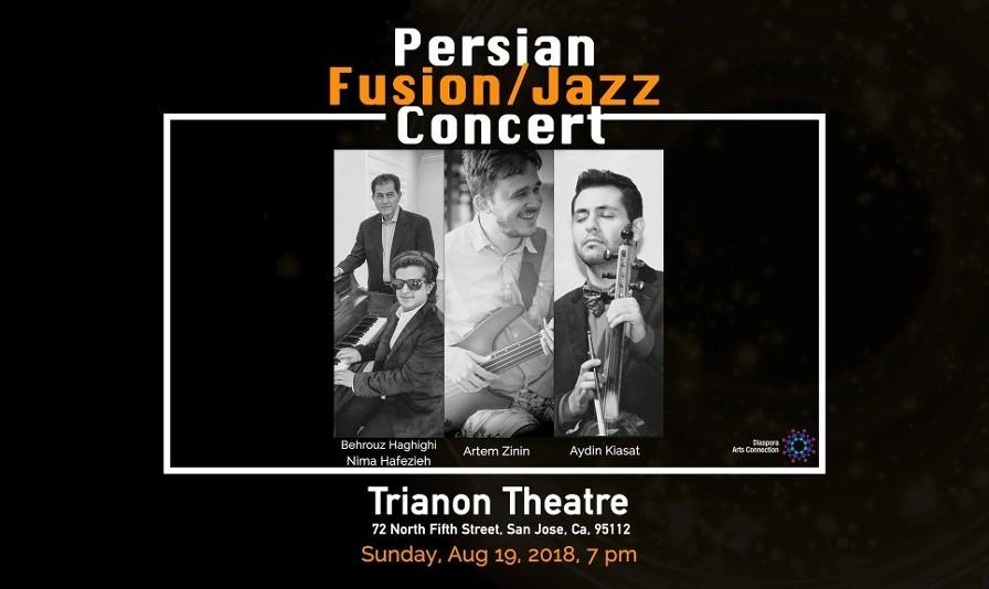 Persian Fusion/Jazz Concert with Nima Hafezieh, Behrouz Haghighi