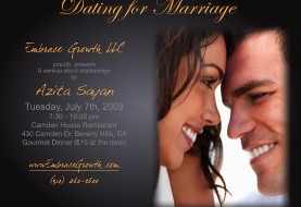 Dating for Marriage by Azita Sayan