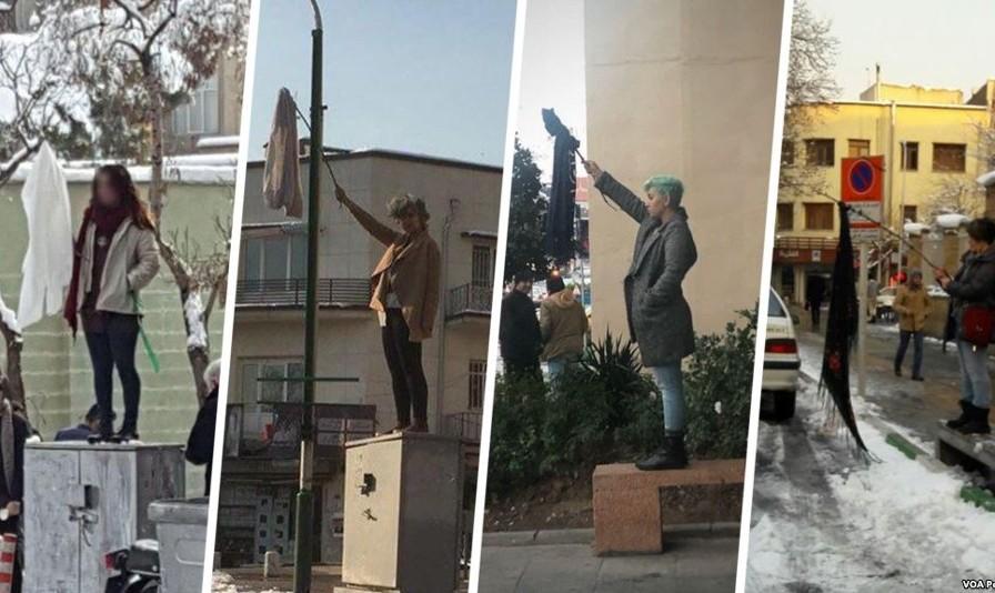 روسری بر چوب؛ پلیس ایران مانده با این دختران معترض چه کند؟! داستان جالب جواب حزبالله لبنان به آزادی حجاب