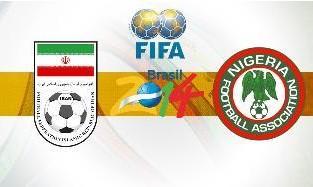 Iran vs. Nigeria World Cup Match