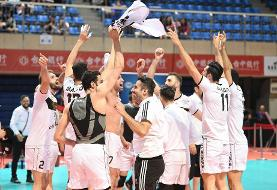 Iranian Volleyball Team Defeats Japan's Panasonic in Epic Comeback to Win Asian Club Championship