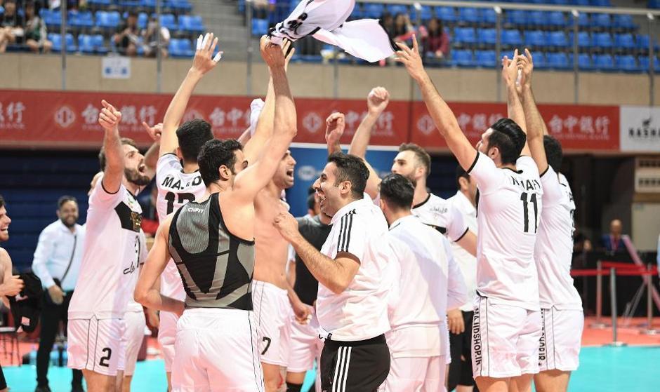 Iranian Volleyball Team Defeats Japan's Panasonic in Epic ...