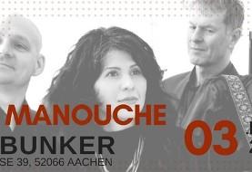 Mah-e Manouche: Musikbunker Aachen