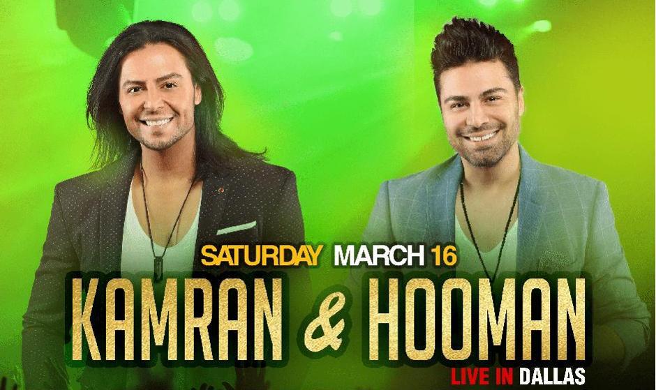 Kamran & Hooman Nowruz Concert in Dallas