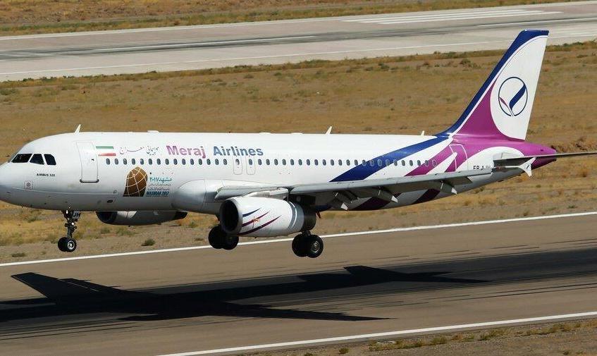 به دلیل نقص فنی؛ هواپیمای معراج تهران- کرمانشاه مجبور به ٢ بار فرود اضطراری در مهرآباد شد