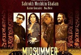 Midsummer Night Fantasy: Shahrokh Moshkin Ghalam and Hamid Saeidi