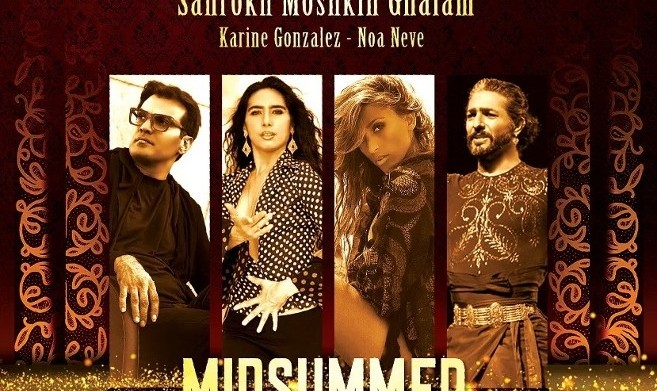 Midsummer Night Fantasy: Shahrokh Moshkin Ghalam and Hamid Saeidi