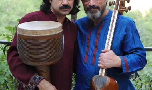 کنسرت آن و آن بداهه نوازی اساتید حسین علیزاده و پژمان حدادی