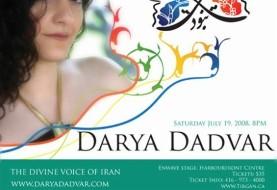 Darya Dadvar in Tirgan Festival