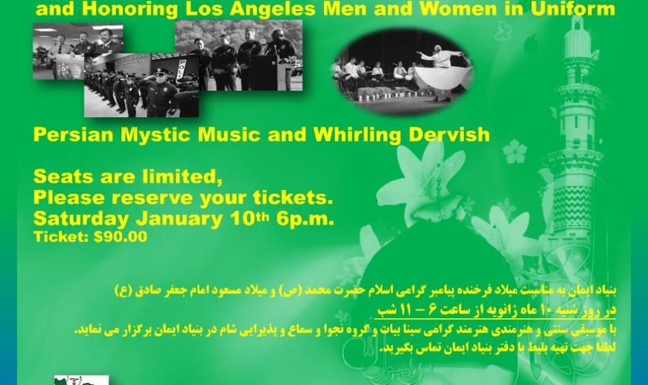 Celebration Prophet Mohammad Birthday & Honoring L.A. Men and Women in Uniform