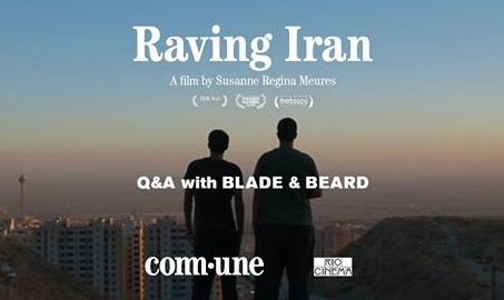Raving Iran - Film screening and Q & A