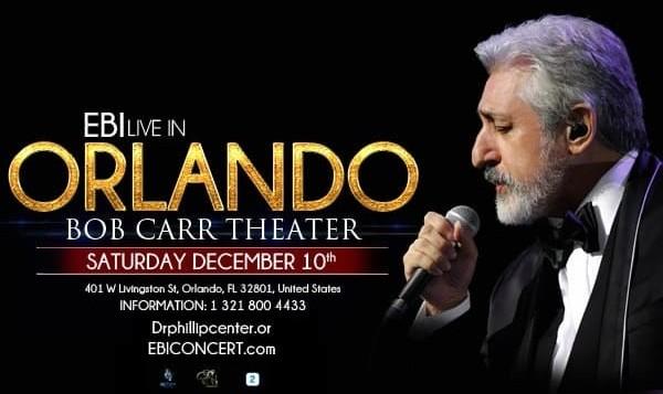 Ebi Live in Concert in Orlando