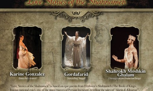 Love Stories of Shahnameh: Dance by Shahrokh Moshkinghalam and Story by Gordafarid