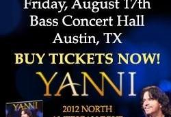 Yanni Concert in Austin