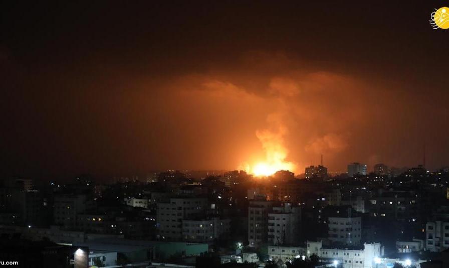 تصاویر: حملات هوایی مرگبار اسرائیل به غزه/۸۵ کشته و زخمی در فلسطین/ شلیک ۱۳۰ موشک به تلآویو