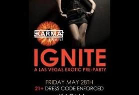 Exotic Pre-party in Las Vegas