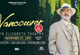 Ebi, Live in Vancouver, NOV. ۲۵th, Second SHOW Added after first Night SOLD OUT