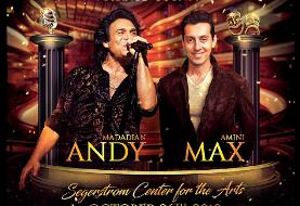 Andy & Max Amini Concert, Comedy Event