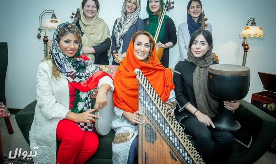 اختتامیه جشنواره موسیقی فجر در تالار وحدت با  اجرای دو گروه ویژه بانوان