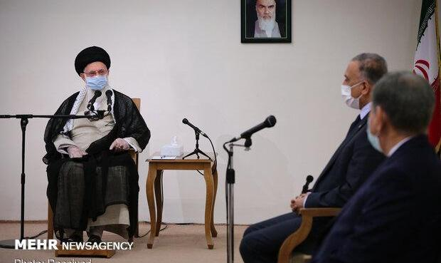 رهبر ایران به نخست وزیر عراق درباره سردار سلیمانی: آمریکا میهمان شما را در خانه شما کشت/ قطعا ضربه متقابل را به آمریکایی ها خواهیم زد
