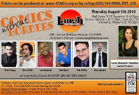 Comics Without Border Comedy Charity Benefit and Exclusive Afterparty