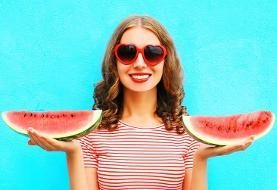 میوه ای خوش طعم که جایگزین ضدآفتاب می شود: با مصرف آب هندوانه وزن کم کنید